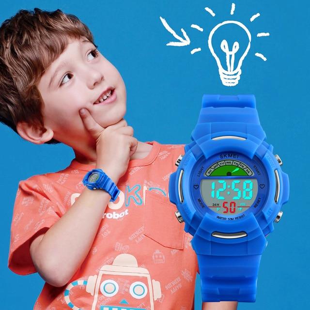 Children Watches Student Wrist Watch Waterproof Kids Watches Boys LED Digital Wa