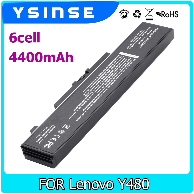 121500049 Laptop Battery For LENOVO Ideapad G580 Z380 Z380AM Y480 G480 V480 Y580 G580AM L11S6Y01 L11L6Y01 ThinkPad Edge E43 K43 lmdtk new 9 cells laptop battery 121500049 for lenovo g500 y485n series ideapad g580 y580 y480 z480 y580n