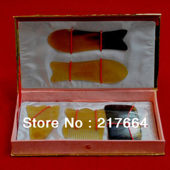 Traditional Acupuncture Massage Tool  5pcs/Set Gua Sha