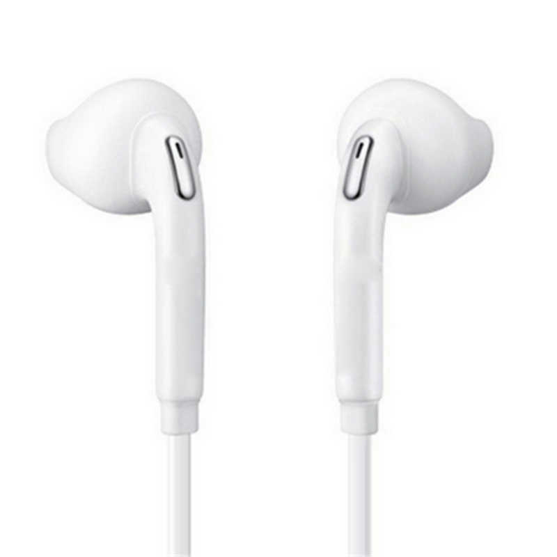 1 PC S6 Sport Earphone dengan MIC 3.5 Mm In-Ear Wired Earphone Earbud Stereo Fone De Ouvido Headpset Universal untuk xiaomi S8