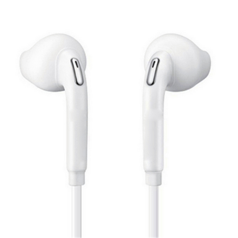 In Ear Wired 3 5mm Earphone S6 Sport earphones with Mic Earbuds Stereo fone de ouvido Headpset Universal for Xiaomi iPhone PC S8 in Phone Earphones Headphones from Consumer Electronics