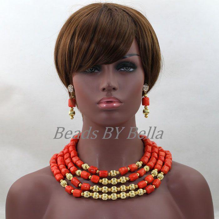 Fabulous Women Wedding African Coral Beads Jewelry Set 2017 Nigerian Bride Jewelry Gift Jewelry Set 2017 Free Shipping ABL305Fabulous Women Wedding African Coral Beads Jewelry Set 2017 Nigerian Bride Jewelry Gift Jewelry Set 2017 Free Shipping ABL305