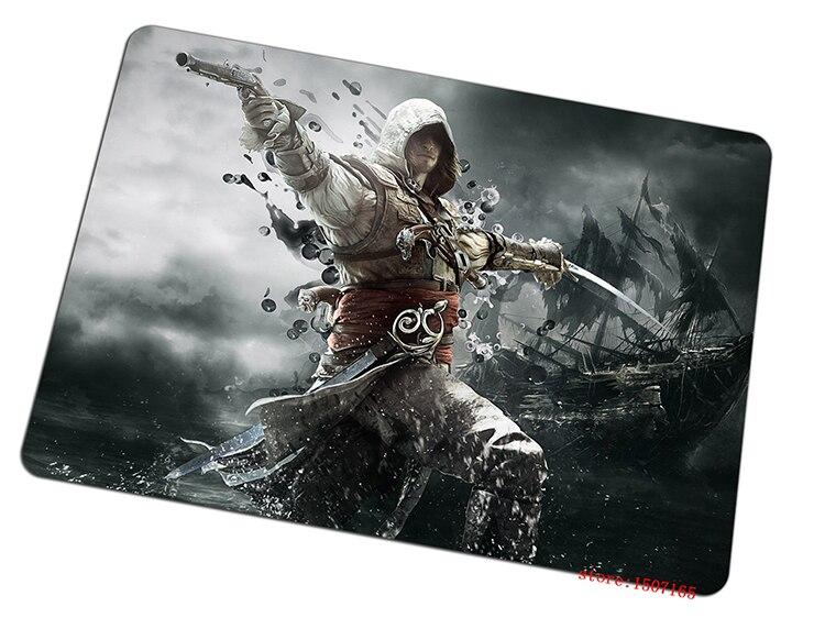 Assassins Creed souris pad Rébellion pad pour la souris En Gros ordinateur tapis de souris gaming padmouse gamer pour ordinateur portable clavier souris tapis