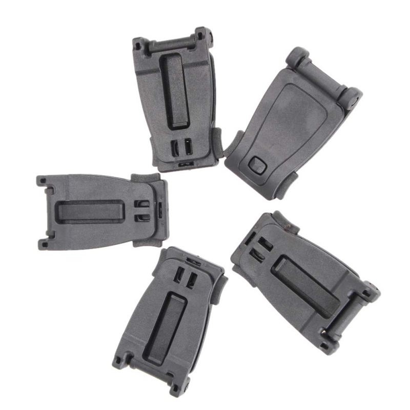 1/5/10 Pieces Outdoor First Aid Kits Military Backpack Fixed Buckle Link Tactical Backpack Bag Webbing Belt Clip Clasp Tools