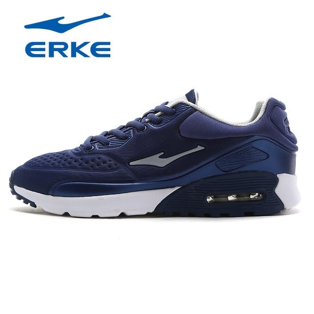 Ерке новые дышащие Для мужчин бег Обувь Air Подушки Спортивная обувь мужской спортивный Обувь кросс-тренинга Обувь кроссовки Обувь для прогулок 2018