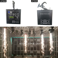 6lot Waterfall hang upside down dmx wireless cold fireworks stage effect spark machine fountain machine pyrotechnics