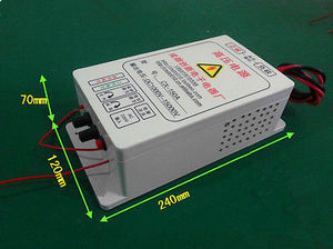 Image 2 - NEW 3kv ~ 15v high voltage electrostatic generator air purifier power 100w