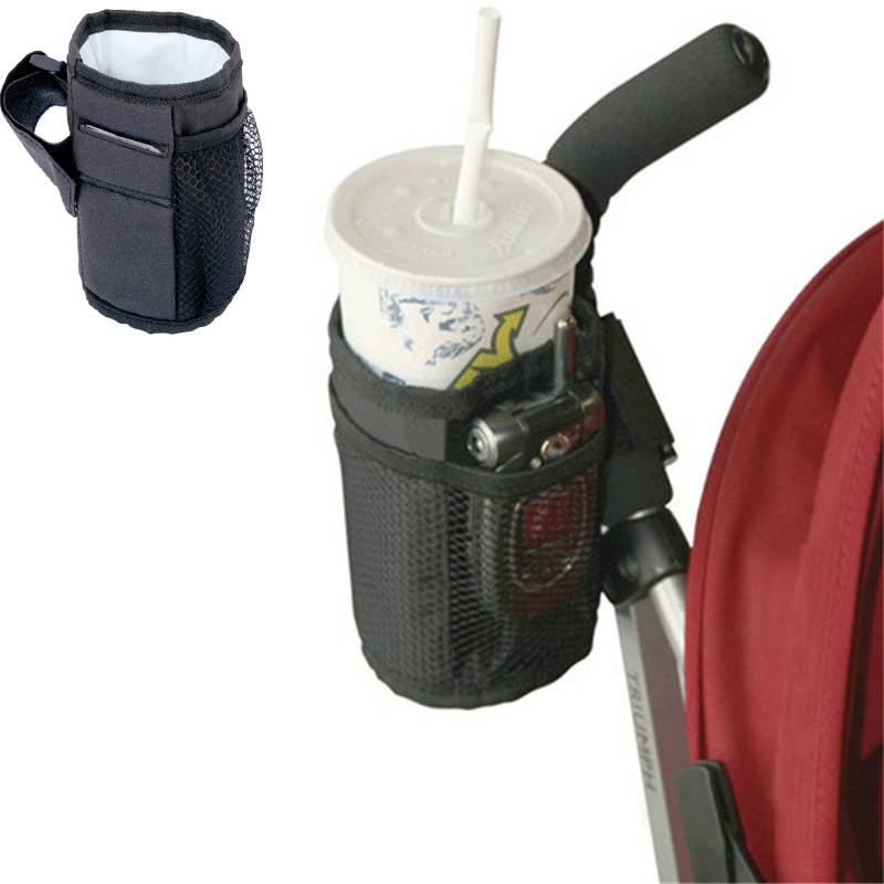 Baby Stroller Cup Holder Special Drink Parent Mug Waterproof Design Cup Bag Strollers Bicycle Universal Bottle Bags For Baby