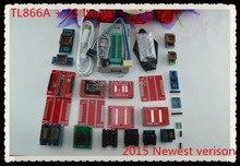 V6.6 Original TL866A Universal minipro programmer TL866 AVR PIC Bios USB Programmer+23 pcs adapters Russian English manual