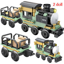 Mountain Mine train Loading locomotive Technic Sets Model Building Blocks Brick Toys For Children Birthday Gift(China)