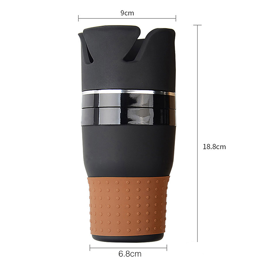 HTB19dydcxGYBuNjy0Fnq6x5lpXaU - Car-styling Car Organizer Auto Sunglasses Drink Cup Holder Car Phone Holder for Coins Keys Phone Stand Interior Accessories