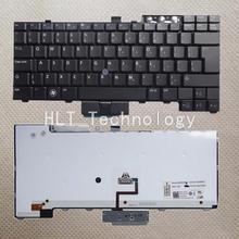 Оригинальная и новая черная клавиатура с американской подсветкой для DELL E6400 E6410 M2400 E6500 M4500 440 хорошая работа