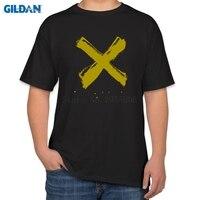Crazy T Shirts 2017 X Black Rock Band Men T Shirt 4xl Black Plus Size T