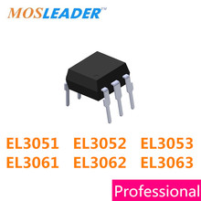 Mosleader DIP6 DIP5 100PCS 1000PCS EL3051 EL3052 EL3053 EL3061 EL3062 EL3063 Made in China de Alta qualidade