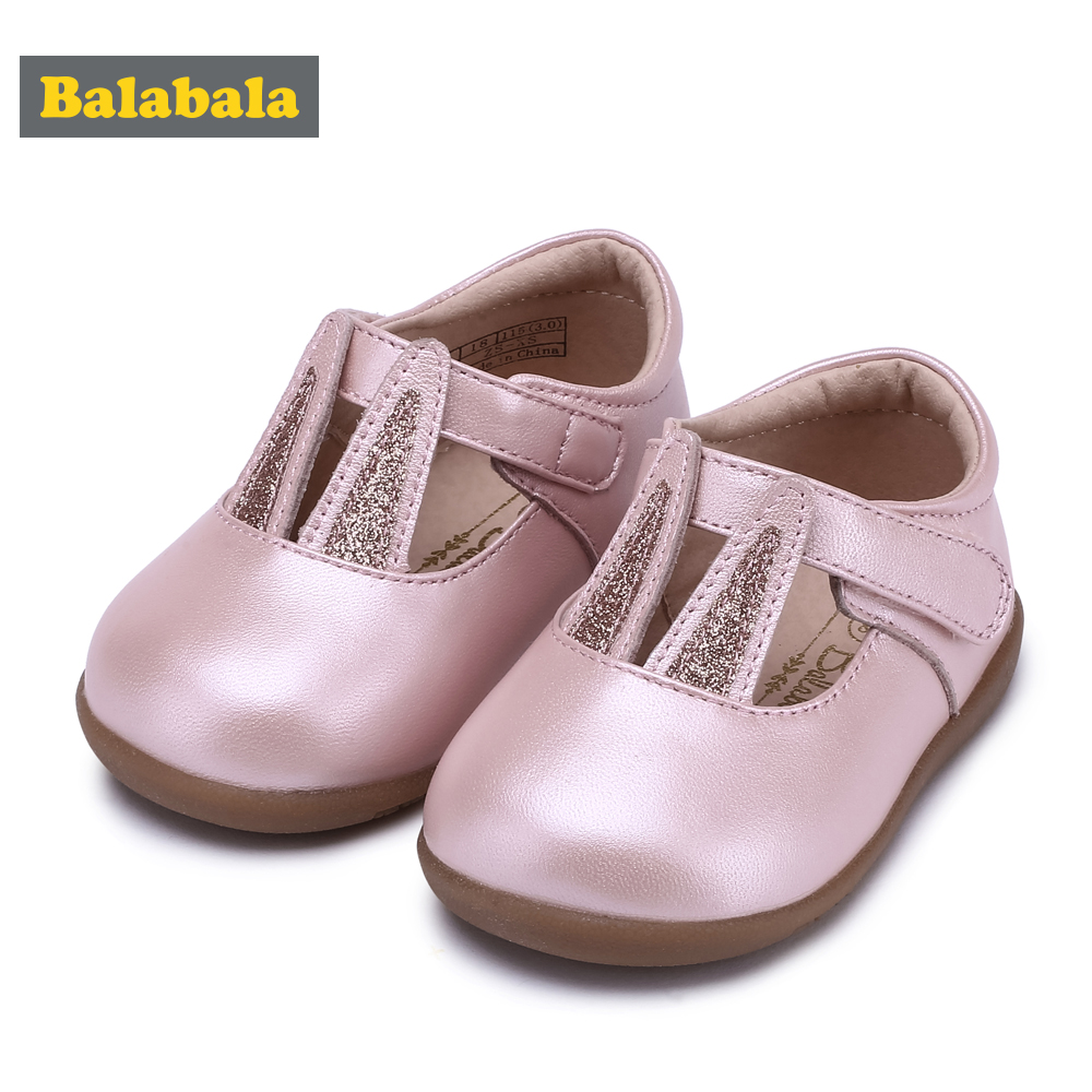 Balabala 2018 Baby Princess Girls Shoes Childlike Fashion Girls Dreamlike Cartoon Rabbit Design Soft Breathable Foot Protection