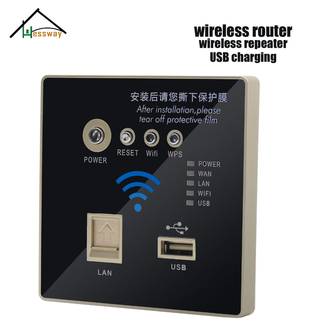 Wall Embedded Socket 3G Wifi Wireless AP Router USB Charger AC 110V~240V ap router 150 mbps indoor wall embedded wireless wifi router repeater 3g 5v 2a usb charger socket panel with switch lan rj11 usb