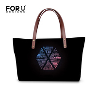 FORUDESIGNS Galaxy Hip Hop Handbag For Women Fashion Shoulder Bags Crossbody Bag Girls Korean Style Casual