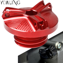 For Kawasaki ER6N ER 6N 2012 2013 2014 2015 2016 M20*2.5 Motorcycle CNC Engine Magnetic Oil Cup Drain Plug Bolt Cover Screws