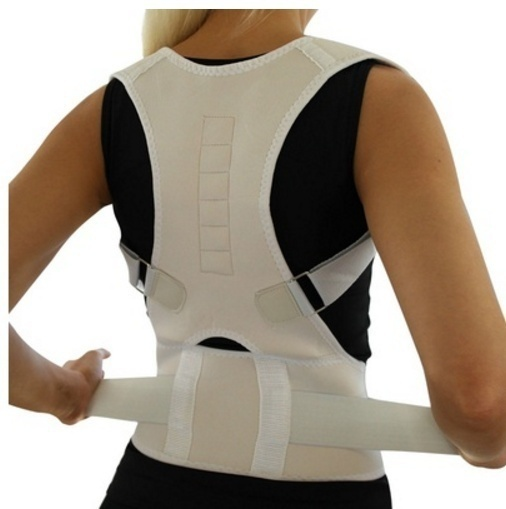 Top Adjustable Magnet Posture Corrector Back Corset Belt Straightener Brace Shoulder Corrector De Postura Braces Supports