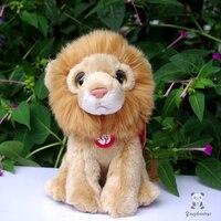 Peluche Baby Toy Gift Big Eyes Doll Simulation Animal Lions Dolls Cute Plush Toys