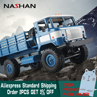 Nashan 1:16 Remote Control Off Road RC Car RC Military Truck 4 Wheel Drive Remote Control Climbing Car Toys for Boys Children