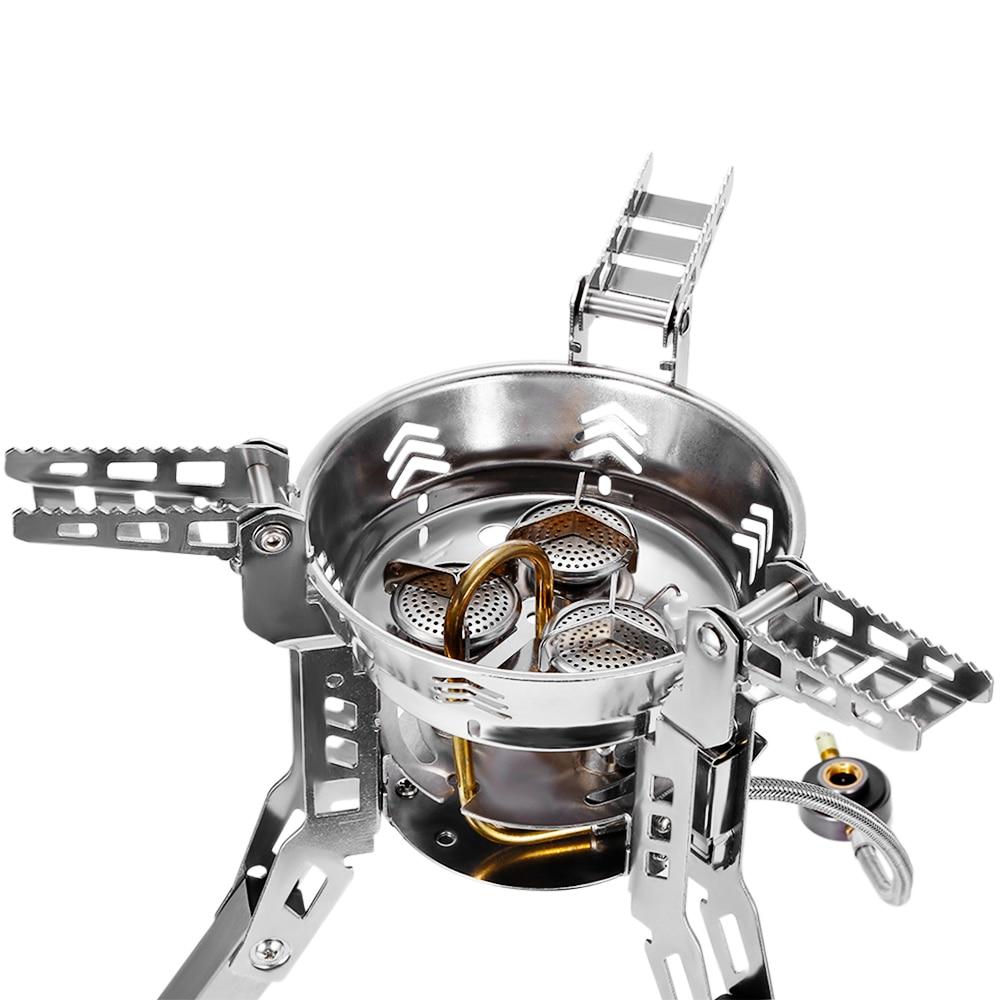 Bulin BL100 B16 наружные сплит газовые горелки плита ветрозащитное Походное оборудование походная печь для пикника складной портативный барбекю снаряжение - 4