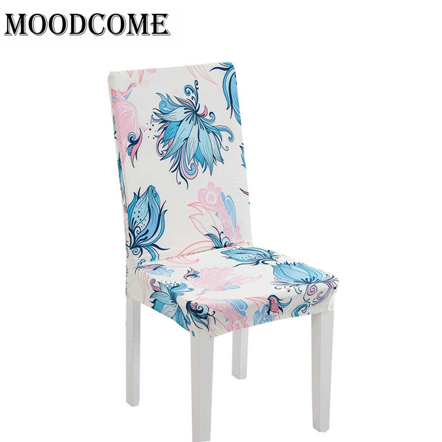 US $10.8 |2018 spandex chair seats chair protectors cover spandex stretch  chair slipcovers dining room chairs covers -in Chair Cover from Home & ...