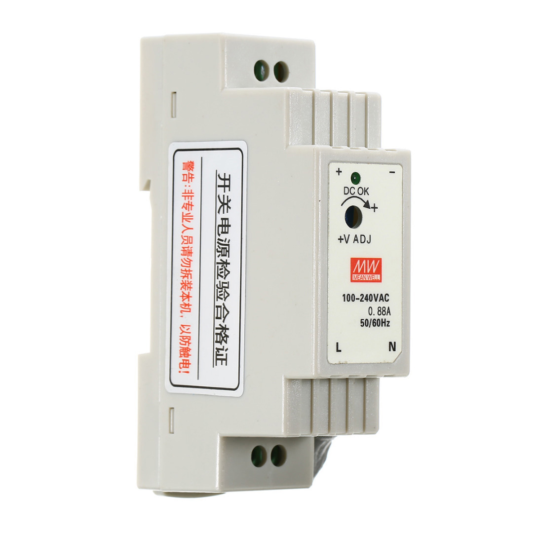 цена на 15W 12V 1.25A LED Power Supply DR-15-12 DIN Rail Switching Power Supply for Linear guide Rail DIN Rail Power Supply