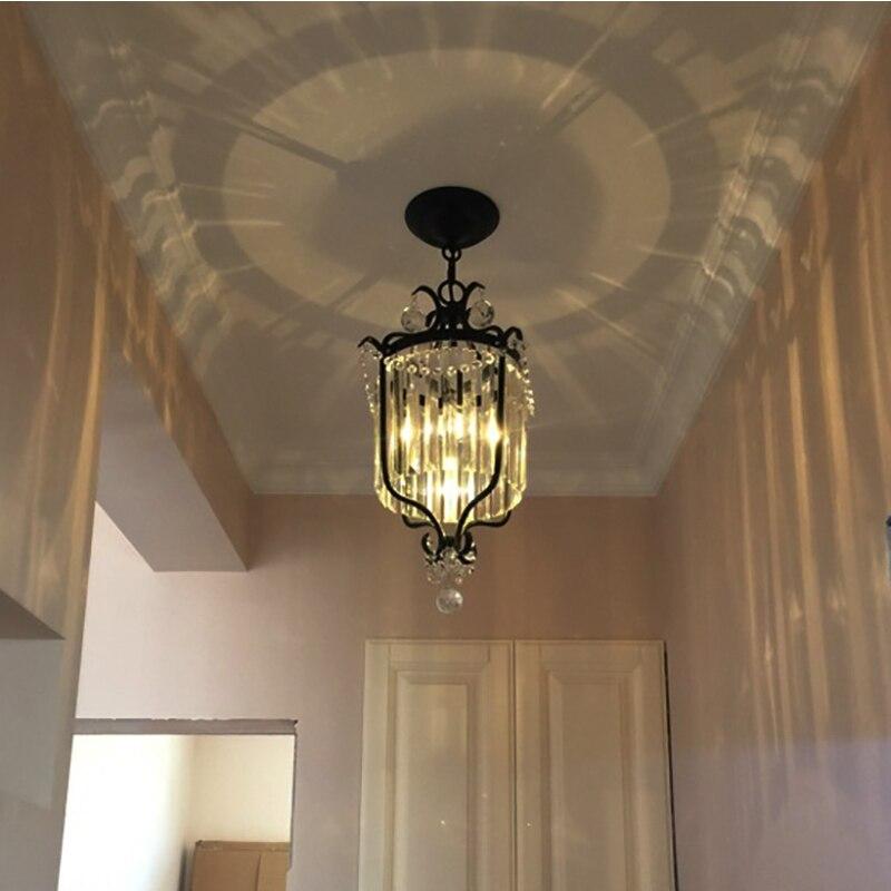 Black Industrial Wrought Iron pendant lamp For font b Bar b font Study Hotel Restaurant pendant