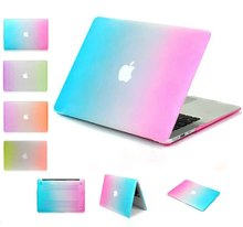 Laptop Case Cover Touch Bar Retina for Apple MacBook Air Pro 11/12/13/15 Colorful Hard Notebook Shell Laptop Case