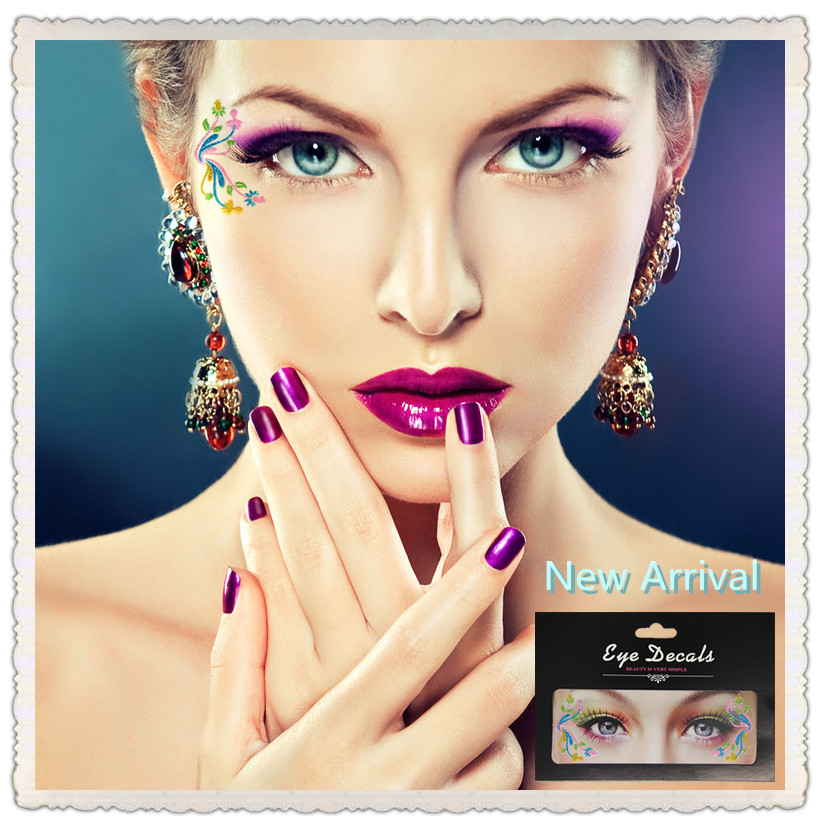 New Arrival Fashion Eye Shadow Stickers 10 Styles Stage