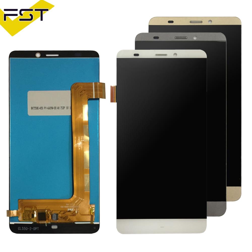 Pour Prestigio Grâce S5 LTE PSP5551 Duo PSP 5551 psp5551duo LCD Affichage écran Tactile digitizer panneau lentille du capteur Assemblée verre
