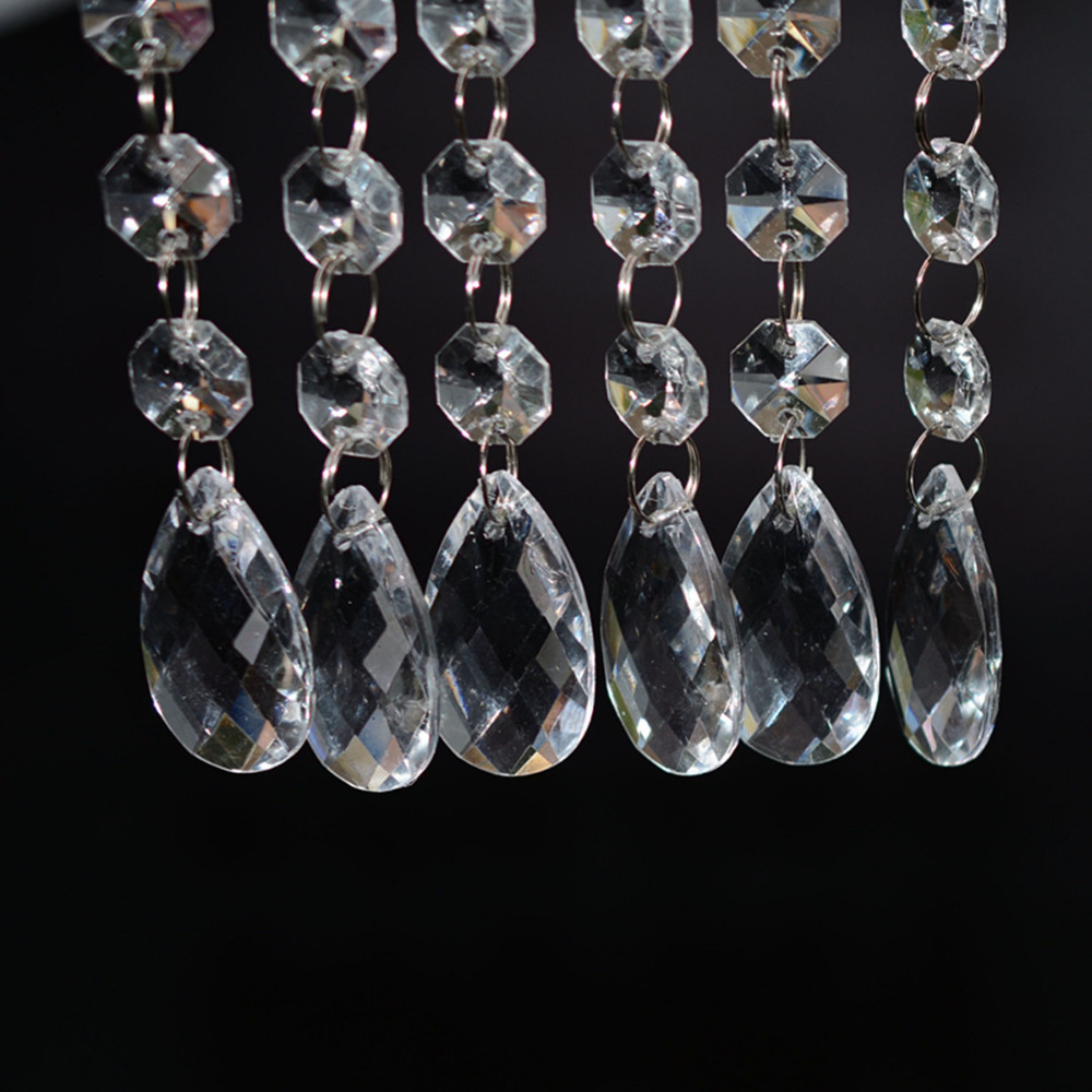Wholesale 20pcs lot acrylic crystal beads garland chandelier wholesale 20pcs lot acrylic crystal beads garland chandelier hanging wedding party decor supplies in party diy decorations from home garden on arubaitofo Image collections
