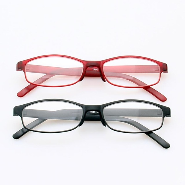 e77d3f2b4a Reading Eyeglasses Presbyopic Spectacles High Elasticity Plastic Frame  Clear Lens Unisex Glasses Frame Gifts for parents