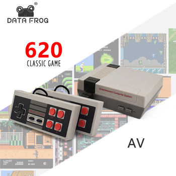 Mini Nintendo TV Game Console 8 Bit Retro Video Game Console Ingebouwd met 620 Games Handheld Gaming Speler Beste Cadeau!