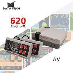 Данные Forg Mini tv игровая консоль 8 бит Ретро игровая консоль встроенный 620 игры Ручной игровой плеер лучший подарок