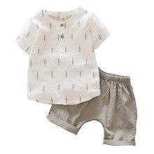 Baby Clothes Cotton Short Sleeve Cartoon Baby Boy Clothe Summer Baby Boy Clothin