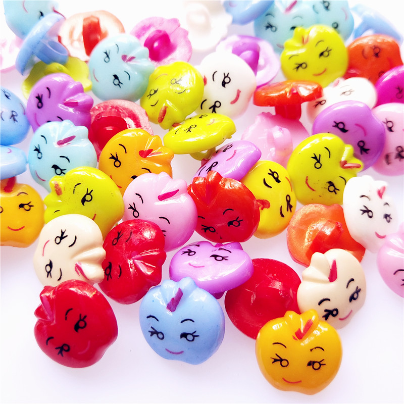 Kid/'s Fashion Little 16mm Mini Mix Clothing Plastic Buttons Sewing Beetle