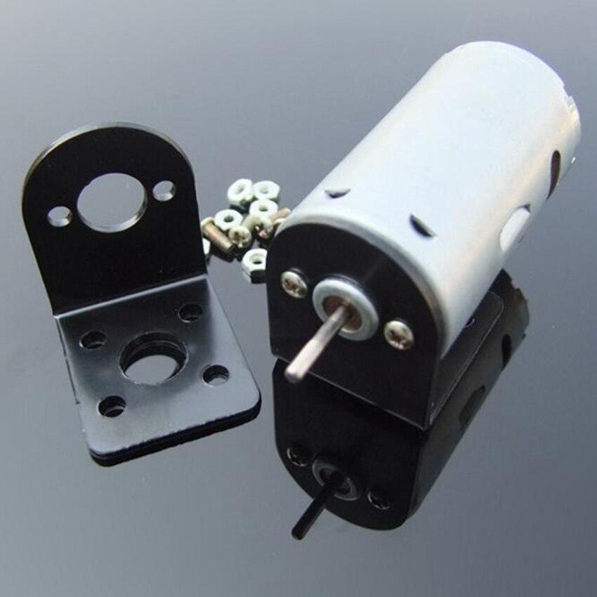 1PC high speed 12V~24V DC Motor Holder Stand Bracket Mount for Hand Mini Drill PCB Drilling fit 365 385 380 390 Motor 33*31*26mm