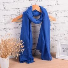 Bavlněná krásná šála pro ženy v 18ti barvách