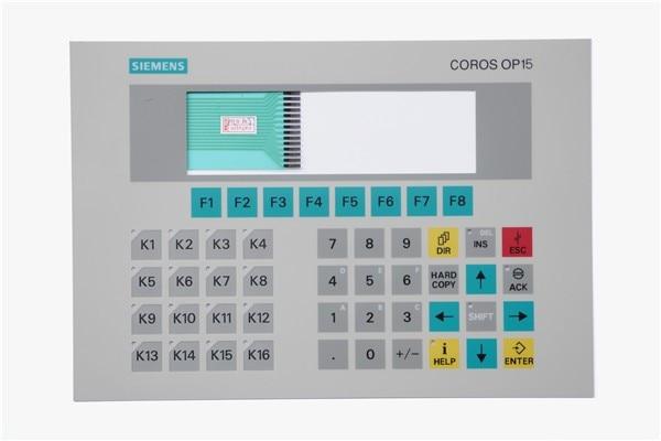 New Membrane switch 6AV3 515-1EB10-1AA0 for SIMATIC COROS OP15 PANEL KEYPAD, panel keypad ,simatic HMI keypad , IN STOCK 6av3607 5ca00 0ad0 for simatic hmi op7 keypad 6av3607 5ca00 0ad0 membrane switch simatic hmi keypad in stock