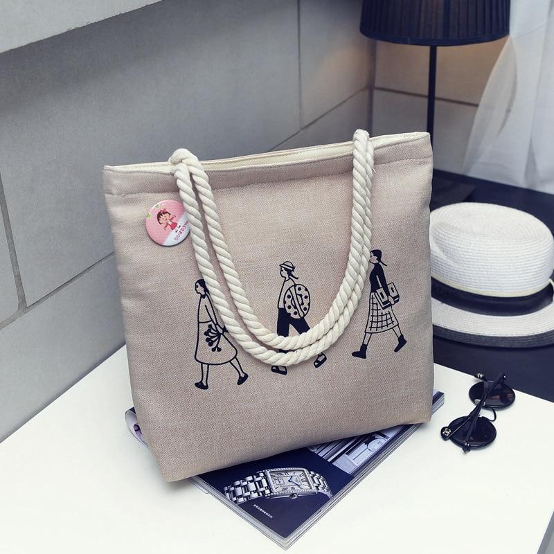 3cf3028f0 High-Quality Women Men Handbags Canvas Tote bags Reusable Cotton ...