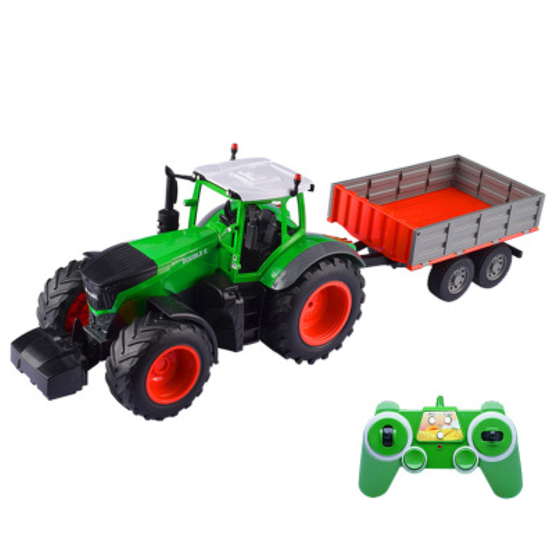 New super big remote control simulation dump car toy Farmer Truck high speed transport vehicle model kid play best gift toy play infrared remote control simulation brazil turtle toy animal model