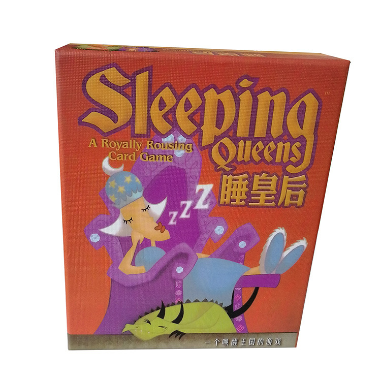 Sleeping Queens Board Game 2-5 Players For Family/Party/Gift Best Gift Wake Queens Up Strategy Game