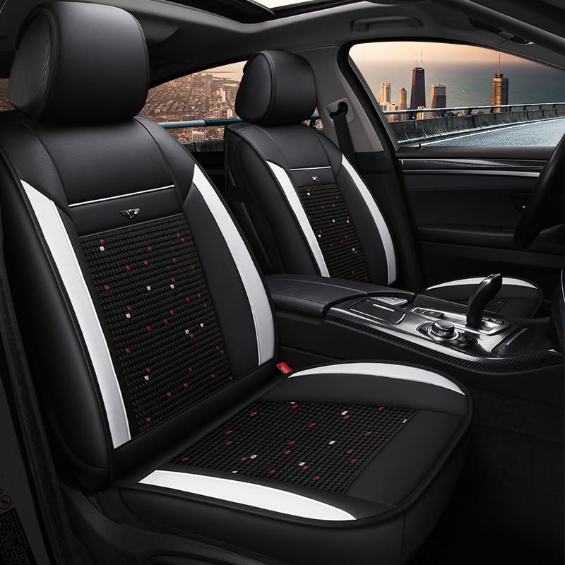 font b Car b font Seat Covers Universal ice silk font b car b font