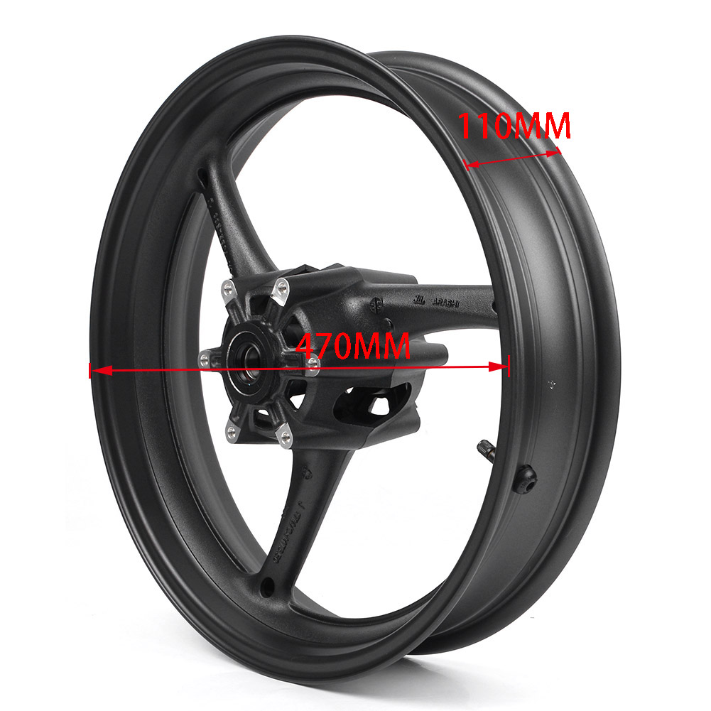 Motorcycle Front Wheel Rim for Suzuki for GSXR600 GSXR750 GSXR600 750 K11 2011 2012 2013 2014 2015 2016 2017 2018 Aluminum
