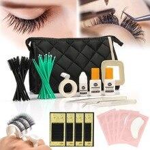 Anmas rucci C Curl Lash Starter Kit Pro Semi Permanent Individual Eyelash Extensions Set US  dropshipping