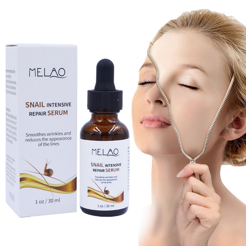 30ml Snail Serum Bone Collagen Solution Facial Serum Anti Aging Intensive Face Lifting Firming Moisturizer Face Skin Care