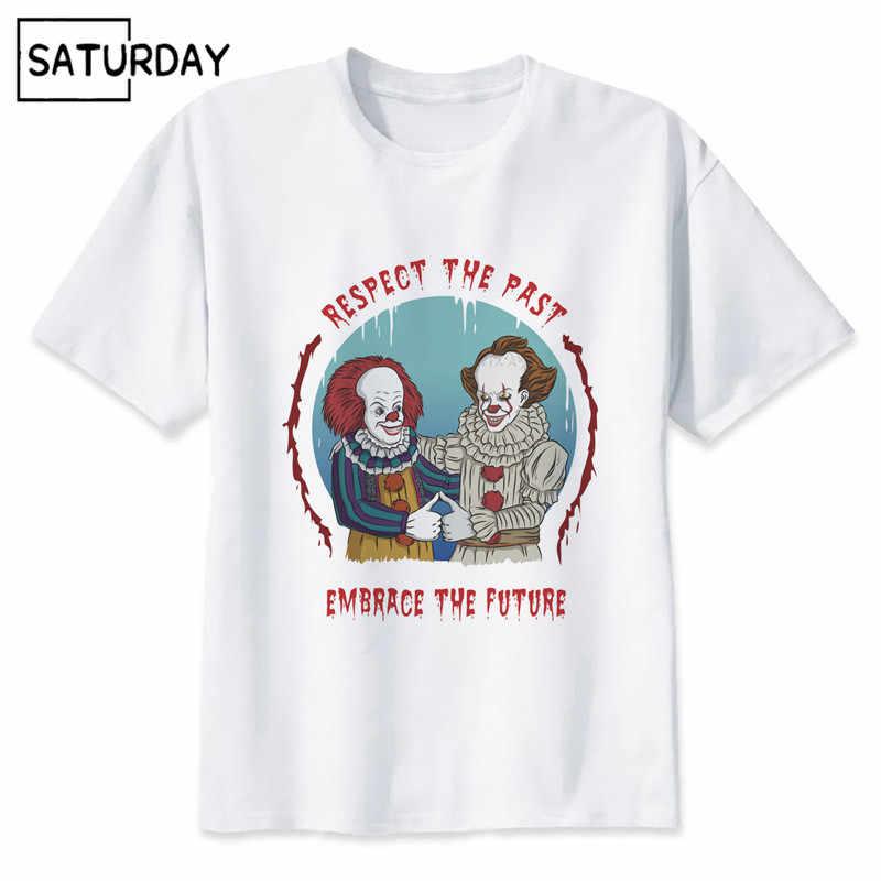 a71753eb0 ... Men's It Clown Pennywise Design Harajuku T-shirts Unisex Superhero  Hipster Tee Shirt Women Cookie ...