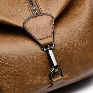 Image 5 - 2019 frauen Leder Rucksäcke Für Mädchen Hohe Qualität Vintage Damen Bagpack Weibliche Sac a Dos Casual Daypack Mochilas Zurück Pack
